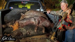 PIG HUNTING MASSACRE - Best Thermal Setup for Eradicating Feral Hogs