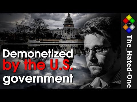 Demonetized by the US government | Permanent Record by Edward Snowden