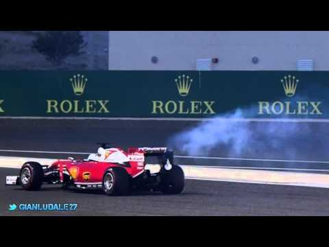 Vettel's team radio on the engine failure before start in Bahrain GP 2016