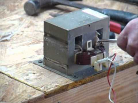 DIY homemade High Current battery tab series spot welder (400 Ampere)