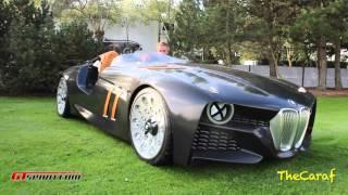 BMW 328 Hommage engine sounds! Concours D'elegance of Knokke.
