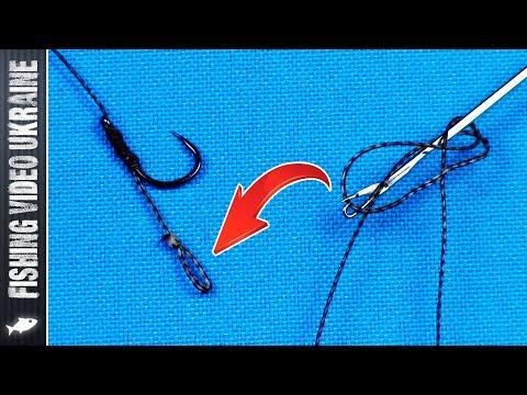 Как связать микро-петлю иглой для бойлов | Супер ЛАЙФХАК | 1080p | FishingVideoUkraine