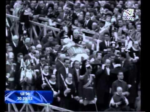 Papa Francesco annuncia che il 27 aprile 2014 Giovanni Paolo II e Giovanni XXIII saranno santi