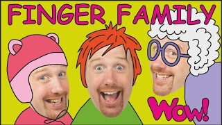 Finger Family | Jobs for Kids + MORE | Stories for Children | Steve and Maggie from Wow English TV