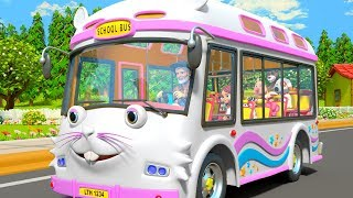 I Spy with my Little Eye - Wheels on the Bus + More Nursery Rhymes by Little Treehouse
