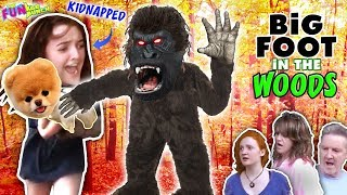 FINDING BIGFOOT, IN THE WOODS!!...WANTS TO TAKE HEIDI... ON THE HUNT FOR  LITTLE BEAR!!