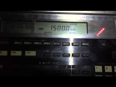 Medium wave DX: WFED - Federal News Radio 1500 KHz Washington, DC
