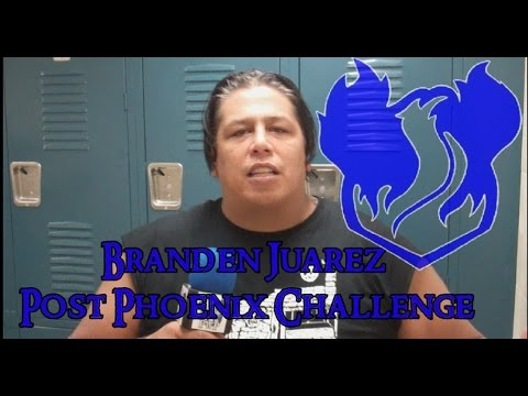 Branden Juarez interview Post Phoenix Challenge