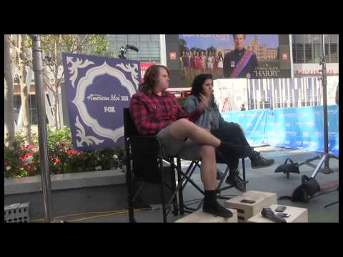 Caleb Johnson and Jena Irene | American Idol Finale Press Conference | AfterBuzz TV
