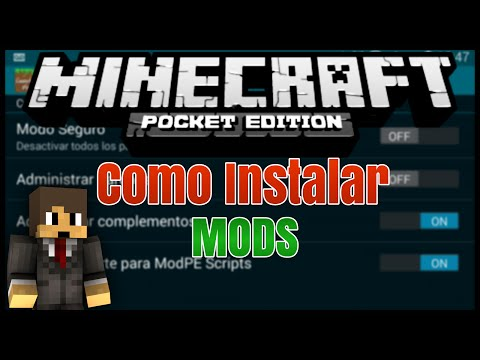 Como Instalar Mods Para Minecraft Pocket Edition 1.1.3 / 1.2 [APK][DESCARGA]