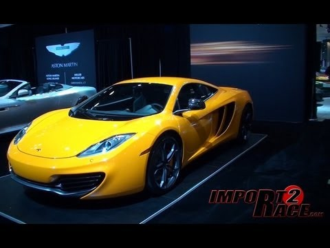McLaren MP4-12C vs Lexus LFA - Chose your Favorite ride?