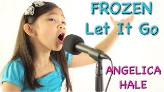 Inspiring 6 Year Old Little Girl Who Sings Let it Go (Frozen) - Angelica Hale