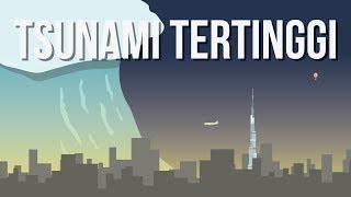 Seberapa Tinggi Tsunami Bisa Terbentuk?