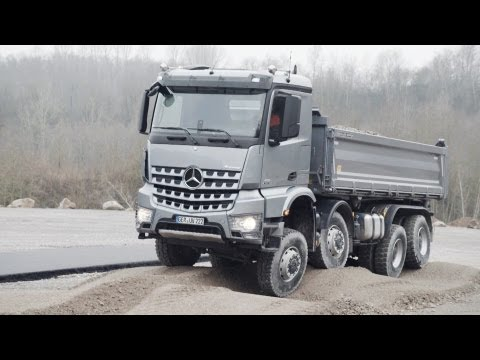 2013 Mercedes Arocs TEST DRIVE OFF ROAD