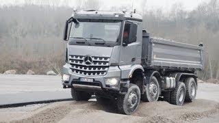 2013 Mercedes Arocs TEST DRIVE OFF ROAD