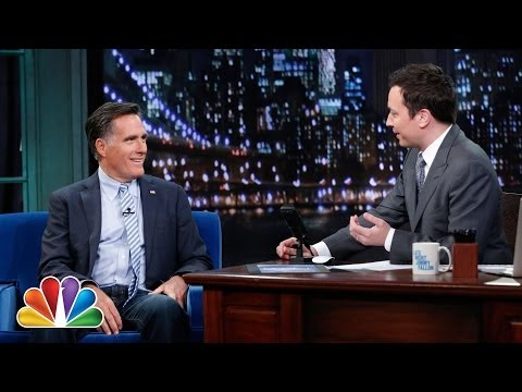 Mitt Romney Weighs In on President Obama's Second Term (Late Night with Jimmy Fallon)