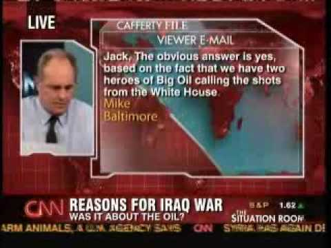 Cafferty File: Was Iraq About Oil All Along?