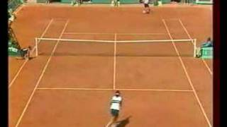 Novotna Seles French Open 1996