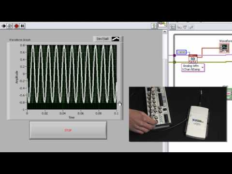 Programming Data Acquisition Applications with NI-DAQmx Functions