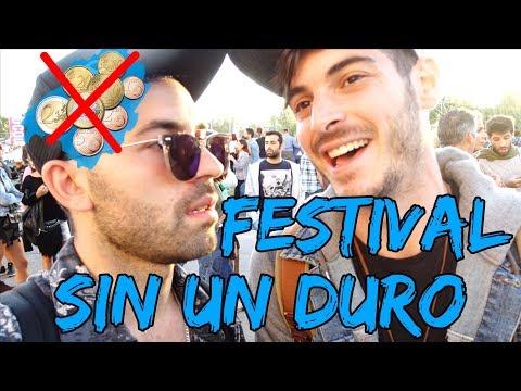 Twyp reta a youtubers a sobrevivir sin dinero en los festivales