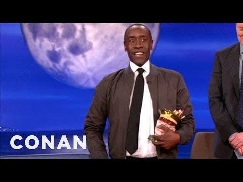 Don Cheadle Gets A Golden Globe Do-Over - CONAN on TBS