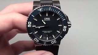 Oris Diving Aquis Date Men