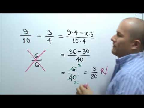 Unicatolica - Resta de Fracciones Heterogéneas