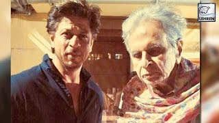 Shah Rukh Meets Legendary Actor Dilip Kumar At His Residence | LehrenTV