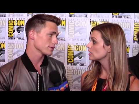 Colton Haynes Comic-Con 2012 'Teen Wolf' Interview