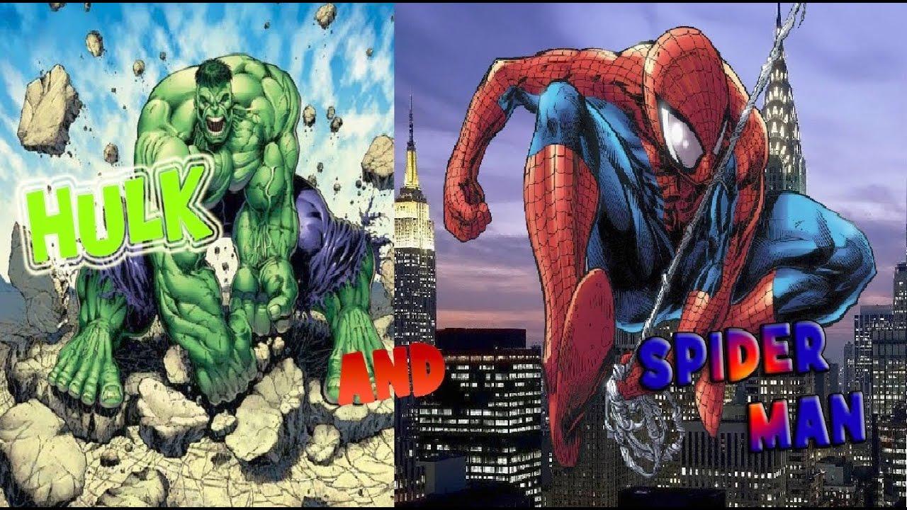 человек паук против халка смотреть: