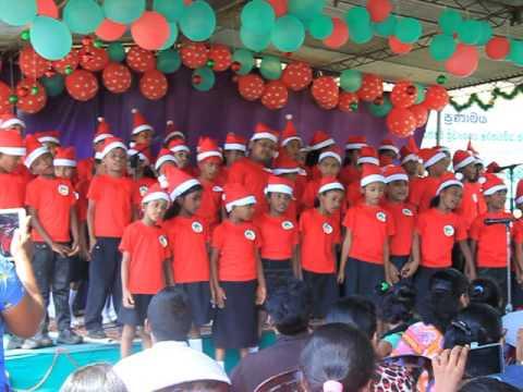 Christmas Singing in Sri Lanka