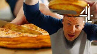 Jamie Oliver's 5-Ingredients Almond Pastry Puff  | Jamie's Quick & Easy Food