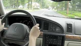 Test Drive The 2000 Lincoln Continental
