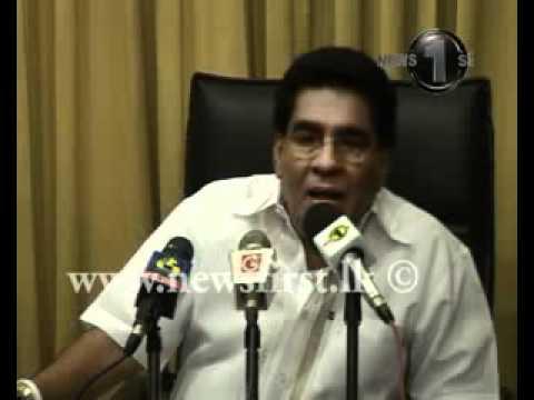 Mervin Silva calls Fonseka for the argument (part 01)
