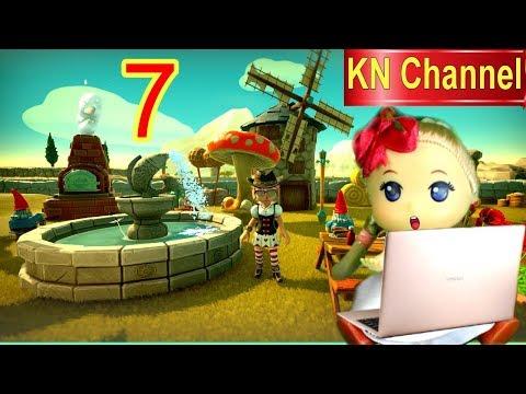 Trò chơi KN Channel FARM TOGETHER  tập 7 | THĂM NÔNG TRẠI HÀNG XÓM VÀ XÂY ĐÀI PHUN NƯỚC