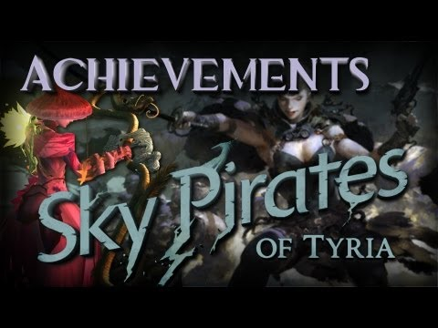 Guild Wars 2 Guide - Sky Pirates - All Cache Jumping Puzzle Achievements
