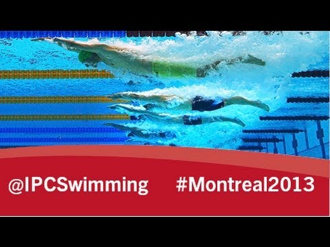 2013 IPC Swimming World Championships Montreal Monday, 12 August, evening session