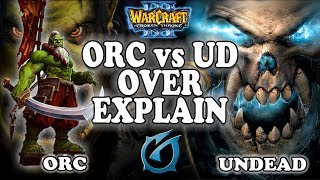 "Grubby | ""ORC vs UD Overexplain"" | ORC vs UD | Echo Isles"