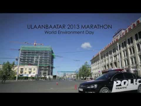 Ulaanbaatar Marathon - World Environment Day 2013