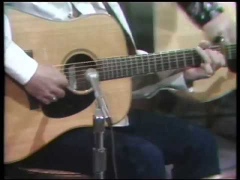 Clarence White flatpicking guitar - The Crawdad Song