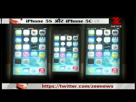 Apple launches new iPhone 5C, iPhone 5S smartphones