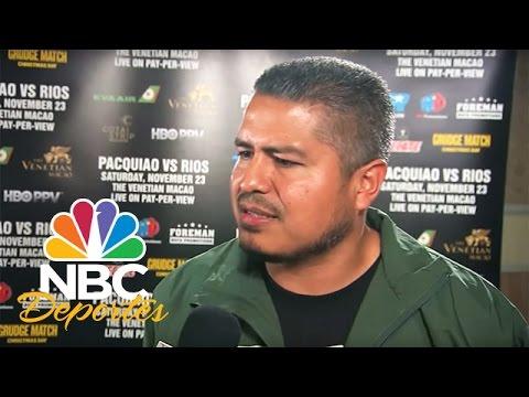 Insultos y patadas entre Freddie Roach y el equipo de Ríos | Deportes Telemundo | NBC Deportes