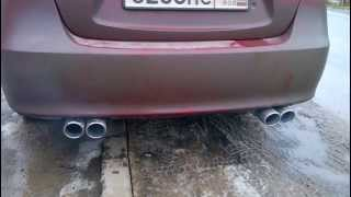 ELANTRA HD JunBL TWIN EXHAUST + collector 4-2-1