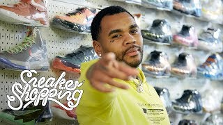 Kevin Gates Goes Sneaker Shopping With Complex