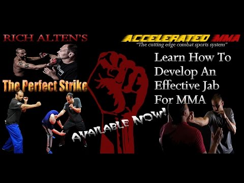 MMA Striking Technique Tips; The Jab Strike For MMA Part One Image 1