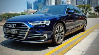 "2019 Audi A8 L Review |  ""Vorsprung durch Technik"" and future of the luxury class PREVIEW"