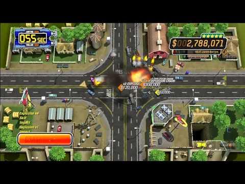 Burnout Crash! Pizza Track Gameplay