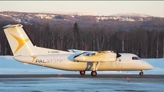 -25 Various Morning of Plane Spotting at Quebec City Airport (YQB) Jan 07 2017