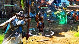 For Honor - Multiplayer Beta Gameplay - KNIGHTS vs VIKINGS vs SAMURAI