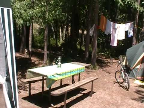 Nasze miejsce.na campingu Pinery 2011 ( spot 945 )